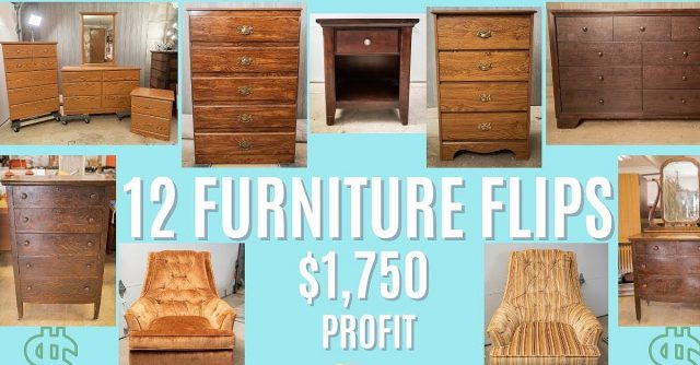 Flipping Furniture Income Business
